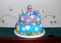 Blue Dora Cake