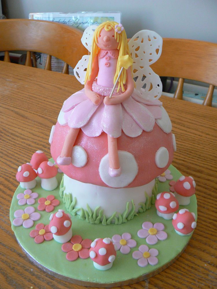 Cake Pink Fairy
