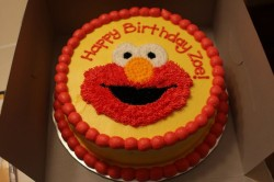 Elmo Cake Decoration Idea