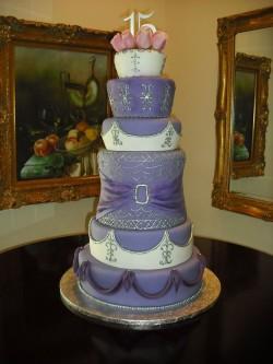 Huge Quinceanera Cake