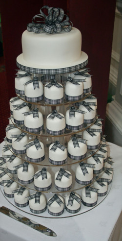 Mini Cakes Tower