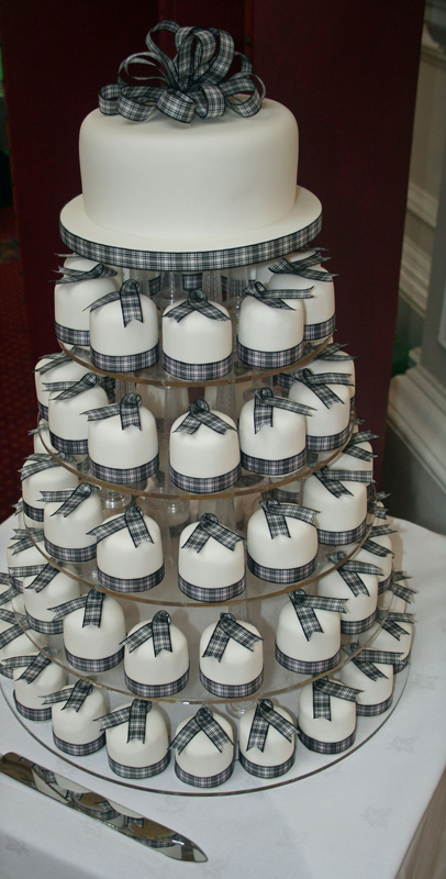 Mini Cakes Tower