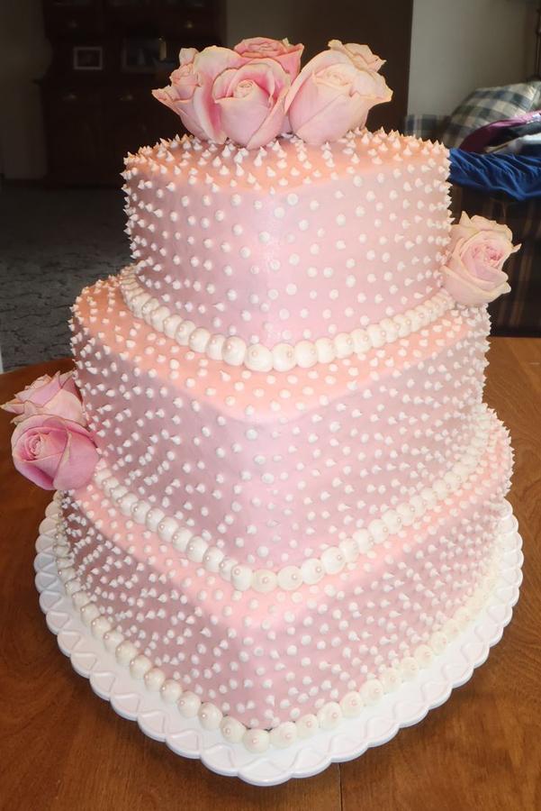 Images Of Cake For Bridal Shower : Pink Bridal Shower Cake