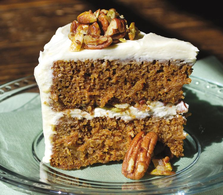 Pumpkin and Nuts Cake