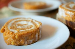 Roll Pumpkin Cake