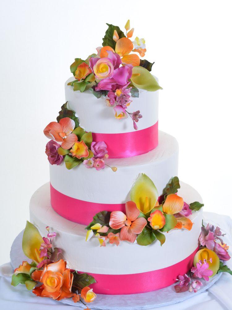 Quinceanera 3 Tier Cake