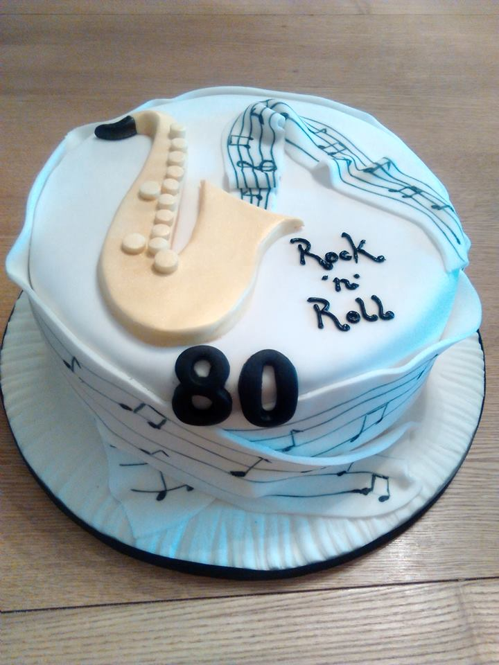 Birthday cake – Rock n roll