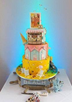 Wedding Cake – Beach