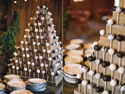 Wedding White Chocolate Cake Pops