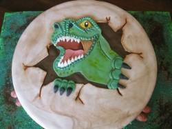 Amazing Dinosaur Cake