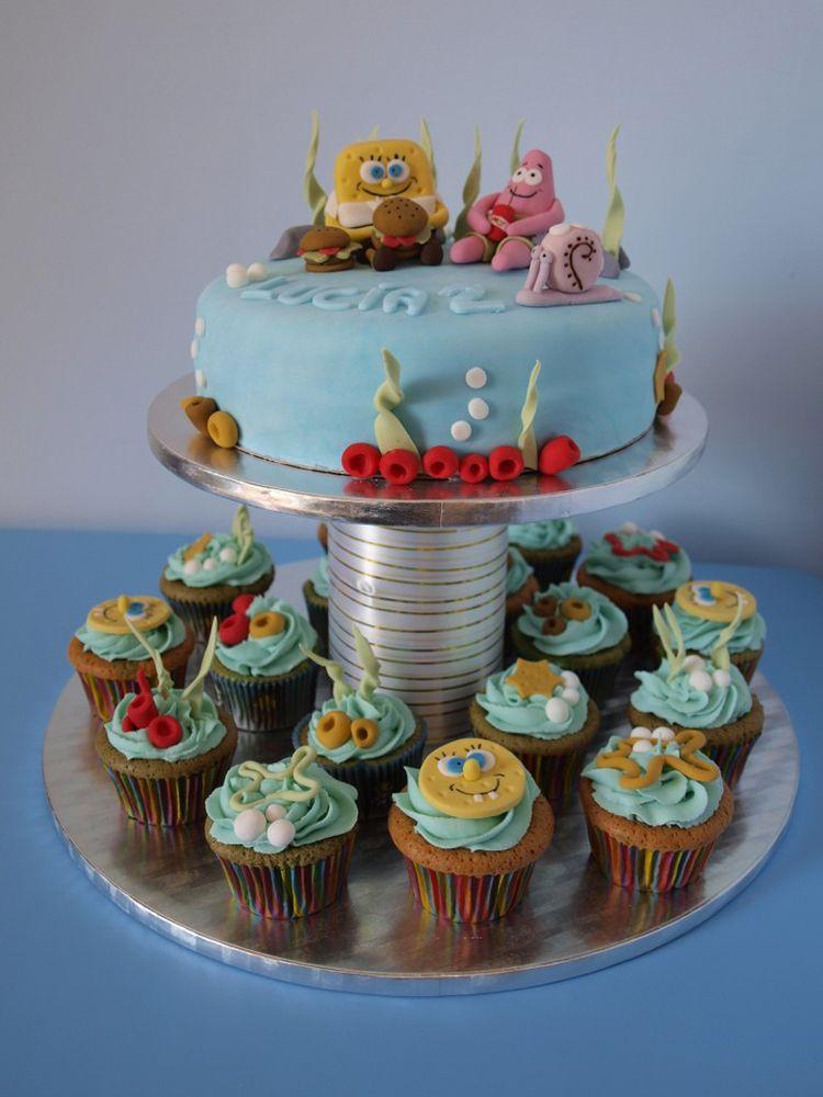 Spongebob Wedding Cake Toppers