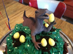 Birthday Dinosaur Cake