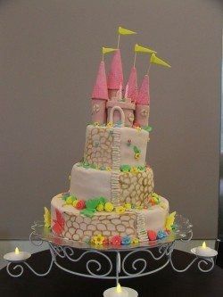 Cake with Princess Castle