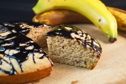 Caramalised Banana Cake