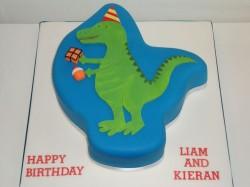 Dinosaur Shape Cake