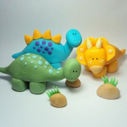 Dinosaur sugarcraft