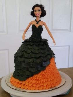 Halloween Lady Cake