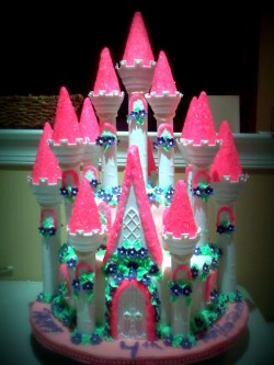 Large Princess Castle Cake