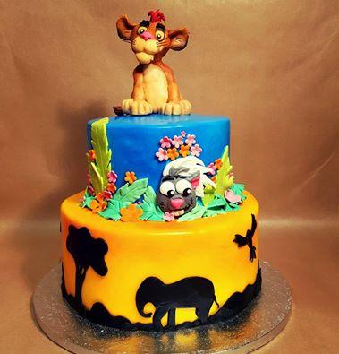 King Cake Decorating Kit : Lion King Cake