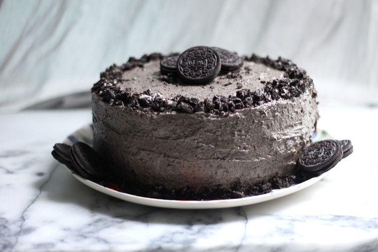 Oreo cake decoration idea