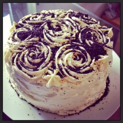Oreo Cake Roses Decor
