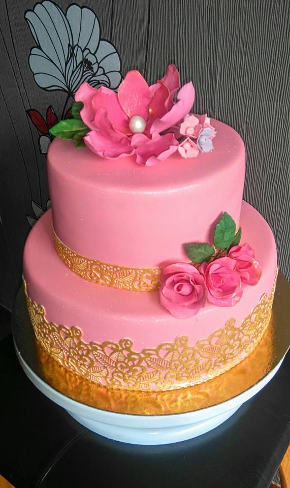 Birthday Cake Pictures Pink : Pink Birthday Cake