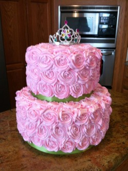 Princess Cake with Roses