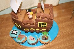 Cake – Pirate Ship