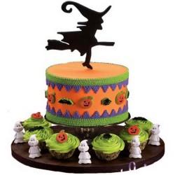Pretty Halloween Cake
