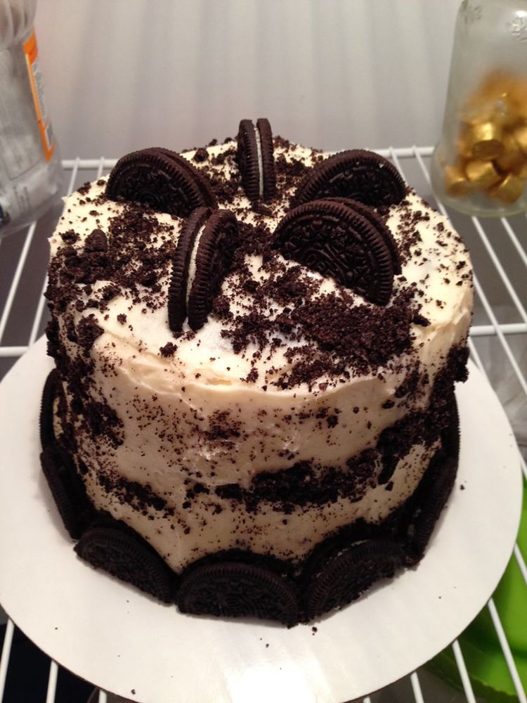 Small Oreo Cake