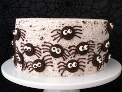 Spider Oreo Cake