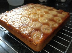 Up side Banana Cake