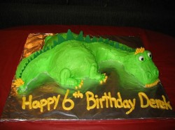 6th Birthday Dragon Cake