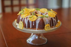 7 up Cake with Lemon