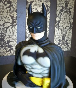 Amazing Fondant Batman Cake