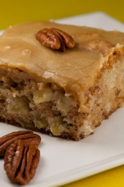 Apple Cake with Nuts