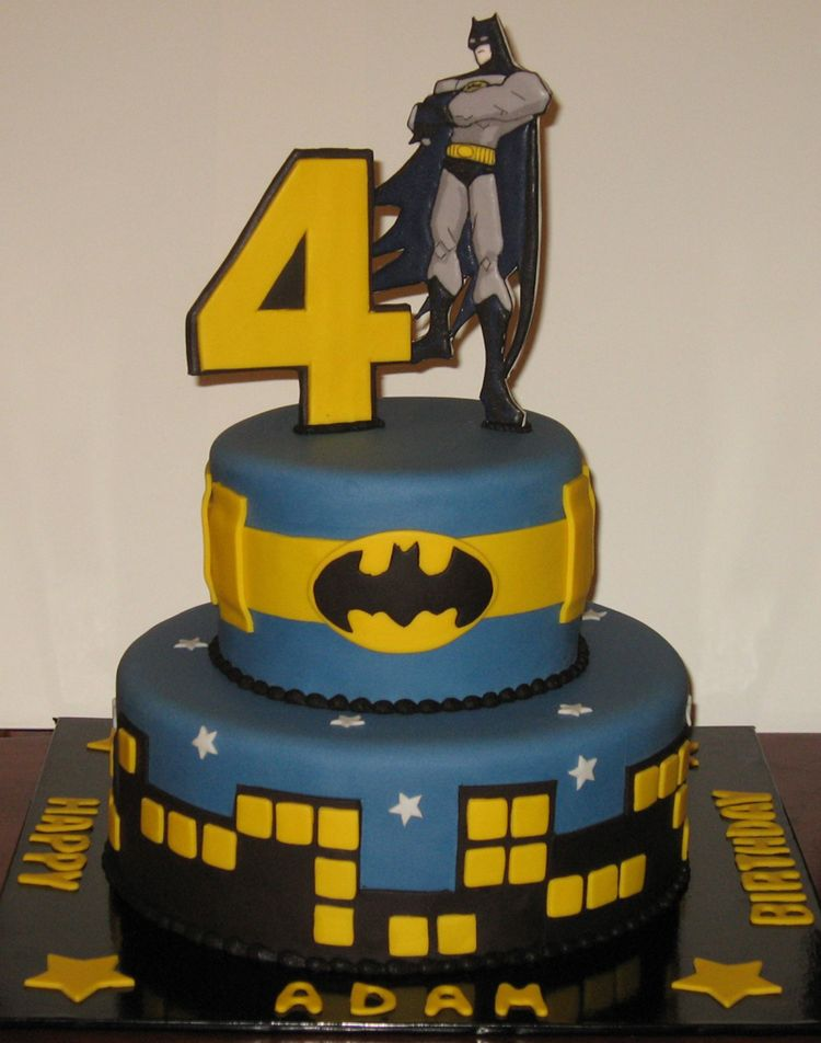 Batman Cake For Adam