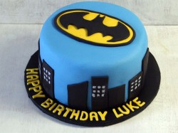 Batman Cake for Luke