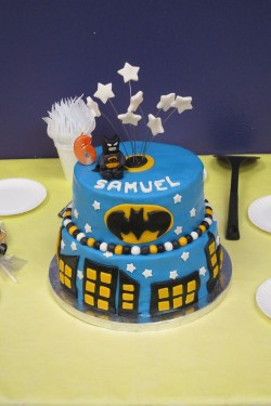 Batman Cake for Samuel