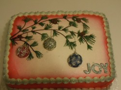 Beautiful Winter Cake