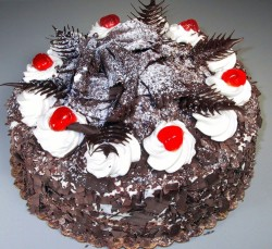 Birthday Black Forest Cake