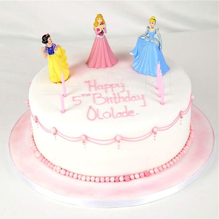 Princess Birthday Cake Images 2018 : Birthday Cake with Princess