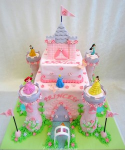Cake Princess Castle