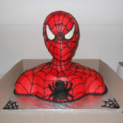 Cake Shape Spider Man