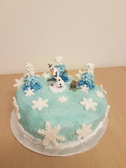 Cake with Olof