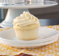 Cute Lemon Cupcake