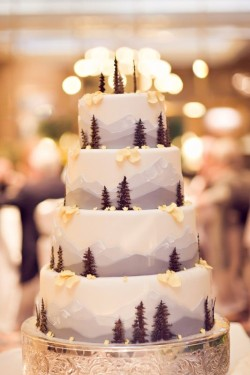 Cute Winter Cake