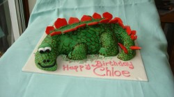 Dinosaur Cake for Chloe