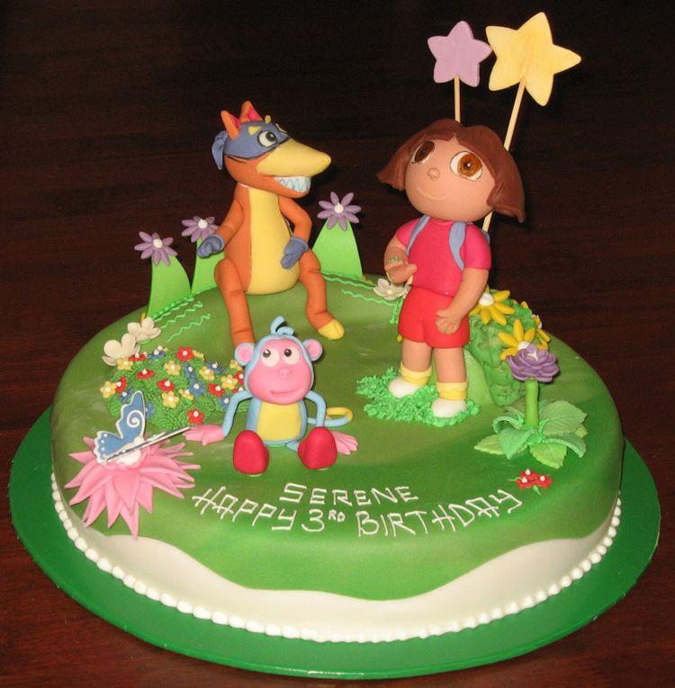 Cake Design Dora : Dora Cake Design