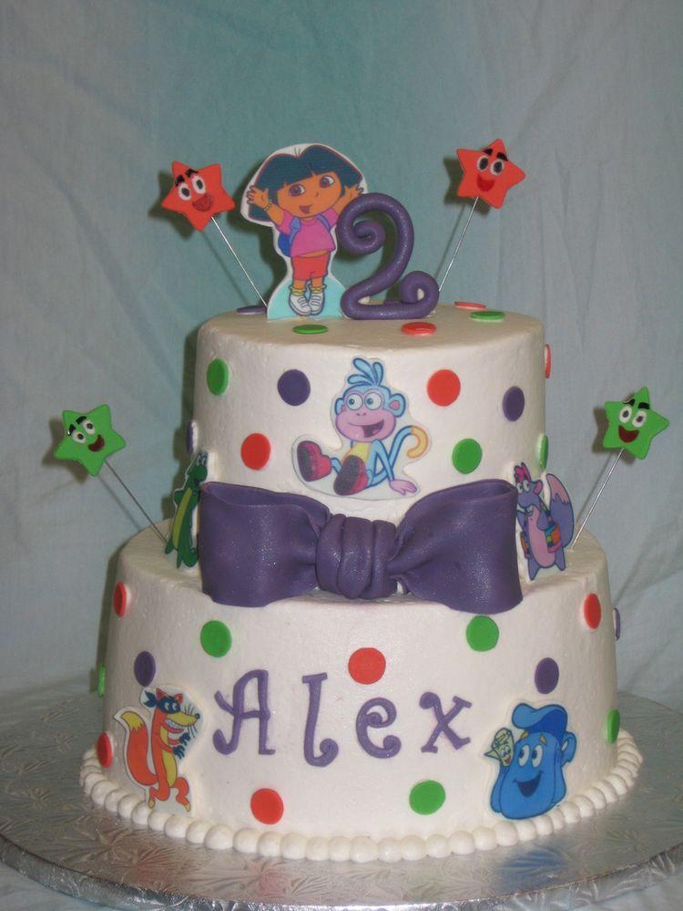 Dora Cake for Alex